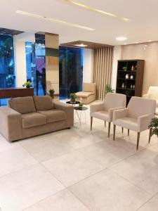 The lobby or reception area at Angra Praia Hotel