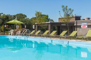 The swimming pool at or close to Four Points by Sheraton Eastham Cape Cod