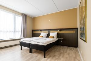 A bed or beds in a room at Best Western Royal Holstebro