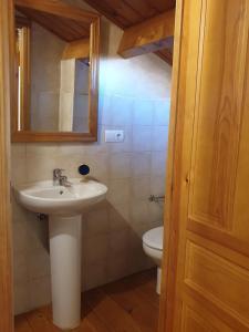 A bathroom at La Casina de Terobe