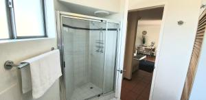 A bathroom at Scarborough Beach Front Resort - Shell Four