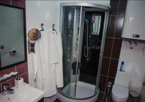 Ванная комната в Отель Апельсин