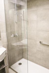 Un baño de Apartamentos Tamarindos Peñiscola