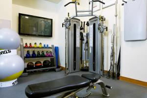 The fitness center and/or fitness facilities at The Rembrandt