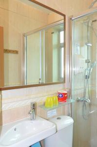 Salle de bains dans l'établissement Bali Holiday Resort