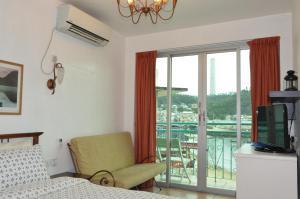 Coin salon dans l'établissement Bali Holiday Resort
