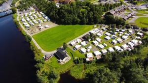 Surnadal Camping Brekkøya sett ovenfra