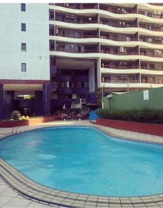 The swimming pool at or close to Porto de Iracema Residence CBT