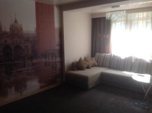 Гостиная зона в Apartment On Roz 41