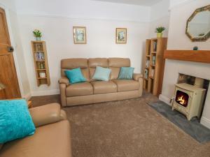 A seating area at Bryn Derwen