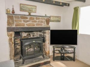 A television and/or entertainment center at Primrose Cottage