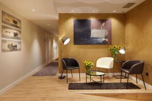 Zona de estar de Hotel Arrizul Beach