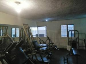 The fitness center and/or fitness facilities at Hotel El Conde