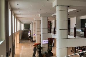 El vestíbulo o zona de recepción de Hotel Sand Diamond