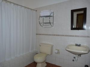 A bathroom at La Posada Del Fraile