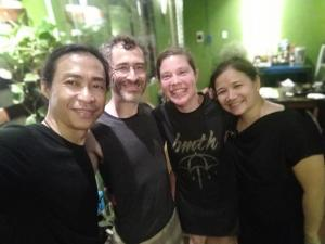 Guests staying at Hanoi Balcony Homestay