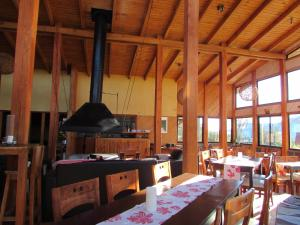 A restaurant or other place to eat at MI Lodge Las Trancas Hotel & Spa