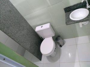 Um banheiro em Pousada Refugio dos Passaros