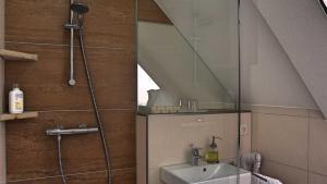 Ein Badezimmer in der Unterkunft Hotel Kammerer