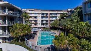 A view of the pool at Swell Resort Burleigh Beach or nearby