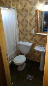 Un baño de La Posada de Pinky Hotel