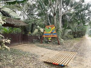 Children's play area at Tambopata River