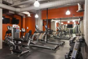 The fitness center and/or fitness facilities at DTLA Loft Gorgeous Views
