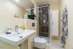 Koupelna v ubytování Ines apartment Prague