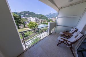 En balkong eller terrasse på Splendid Conference & Spa Resort