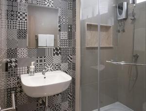 A bathroom at China Cozy Asoke