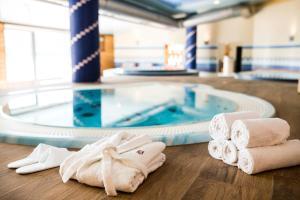The swimming pool at or near Amenity Hotel & Resort Lipno