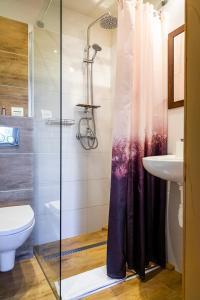 Łazienka w obiekcie Hotel Ariston
