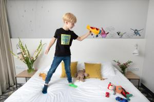 Children staying at ibis Styles Bialystok