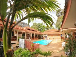 The swimming pool at or near Chaya Resort