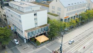 Blick auf Hotel Blumenstein aus der Vogelperspektive