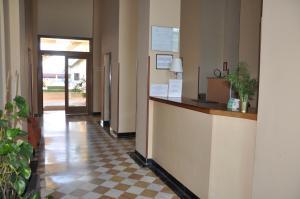 The lobby or reception area at Apartamentos Luxsevilla Palacio