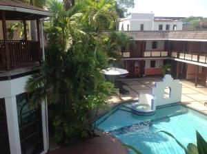 A view of the pool at Hotel Normandie Limited or nearby