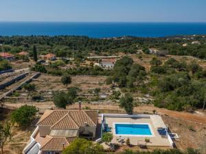 A bird's-eye view of Spyros Villa