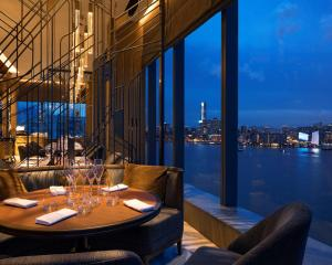 A restaurant or other place to eat at Hyatt Centric Victoria Harbour