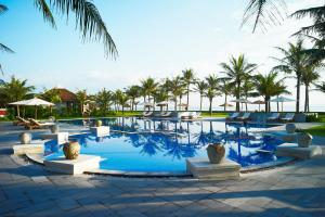 The swimming pool at or near Lapochine Beach Resort (formerly Ana Mandara Hue)