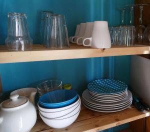 Een keuken of kitchenette bij Ulekesnest