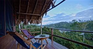 Un balcón o terraza de Guacimo Lodge