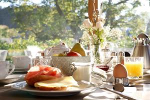 Frühstücksoptionen für Gäste der Unterkunft Pension Grasser
