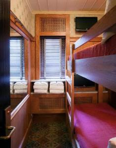 A bunk bed or bunk beds in a room at The Jane Hotel