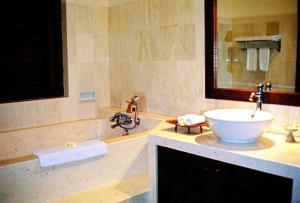 A bathroom at The Amasya
