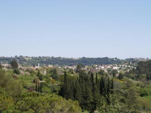 Een luchtfoto van Villa Cédria