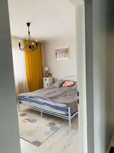 A bed or beds in a room at Amelie's house