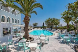 The swimming pool at or near Makarios Hotel