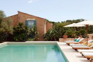 The swimming pool at or close to Predi Son Jaumell Hotel Rural