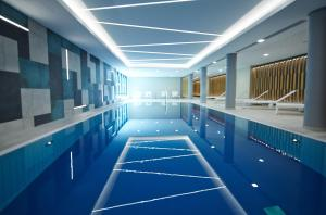 The swimming pool at or near Novotel München City
